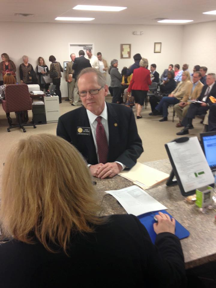 Judge Dan Nagle files for re-election.