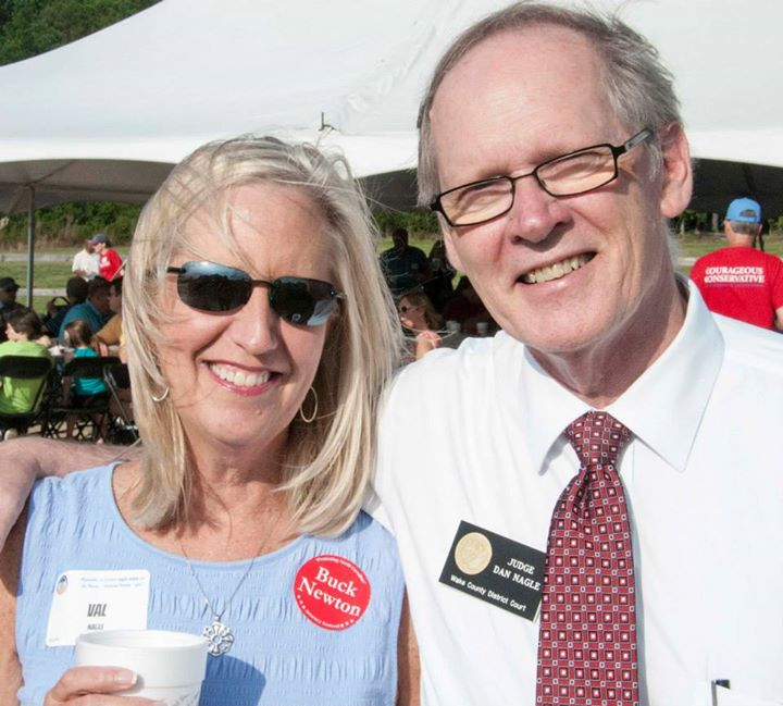 Dan and Val at the Red White and BBQ 2015