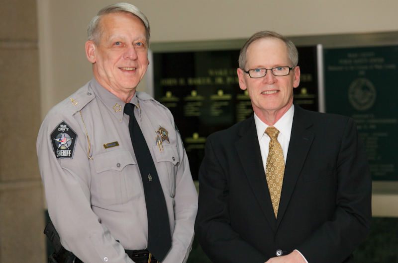 Sheriff Donnie Harrison endorses Dan Nagle for Wake County District Court Judge
