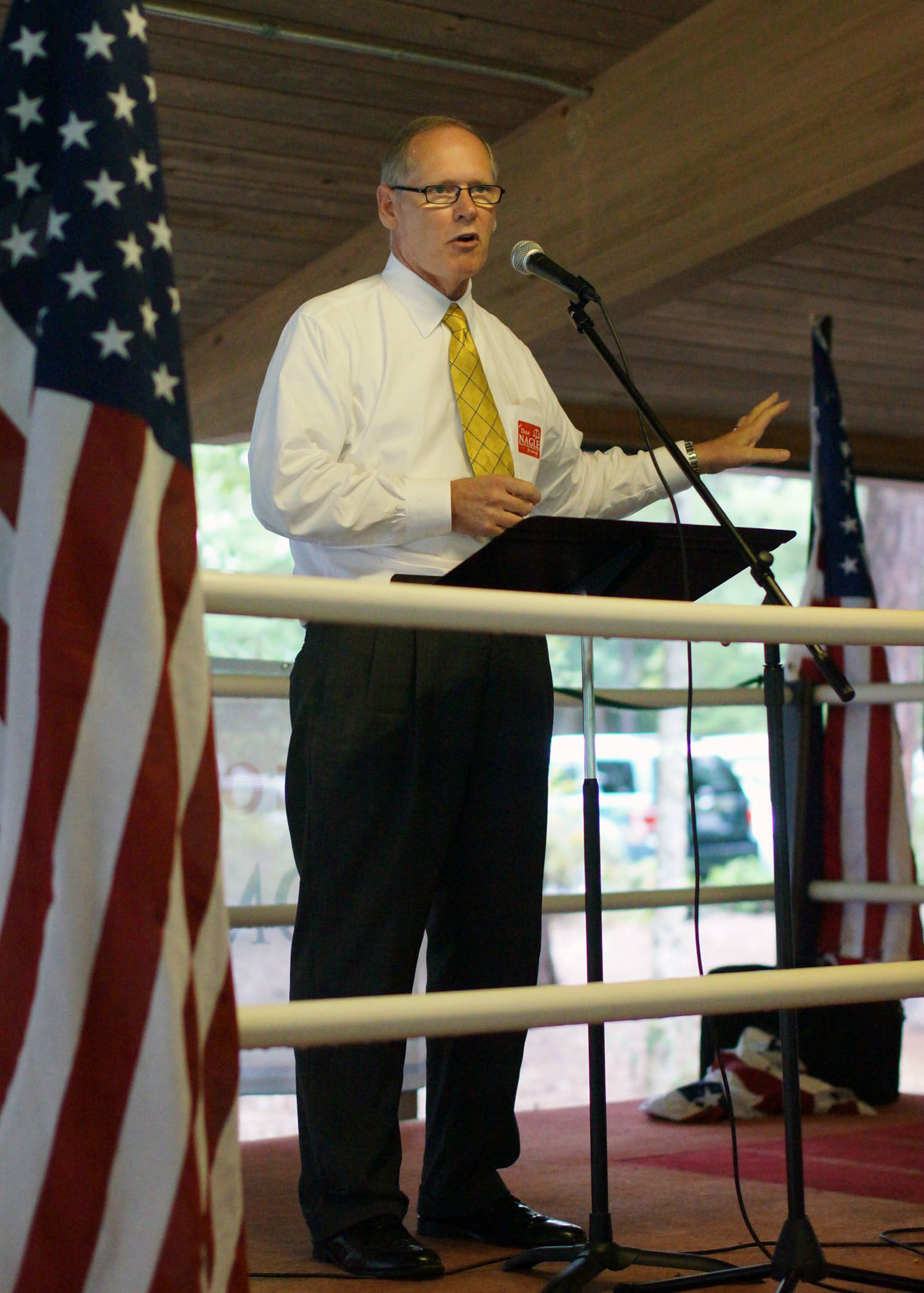 Candidate Dan Nagle Speaks to Cary Voters 8/19/2012