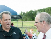 Lt. Governor Dan Forest and Judge Dan Nagle at the Red White and BBQ 2015