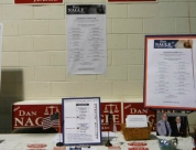 Dan Nagle's Table at  Convention