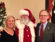 Dan, Val, and Santa Claus 2014